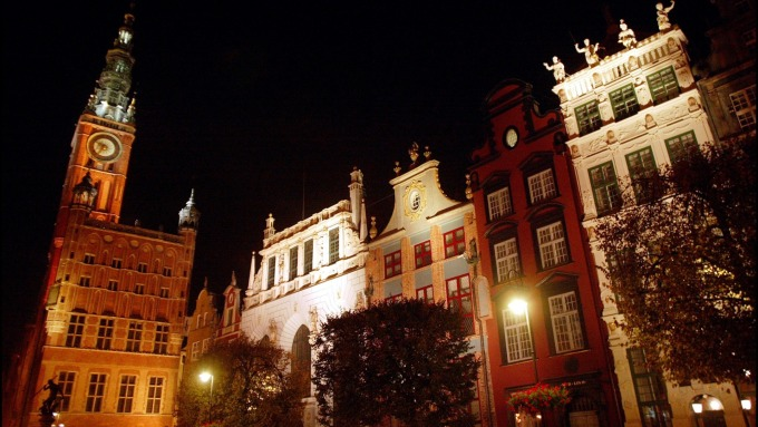 波蘭城市Gdansk(圖片:AFP)
