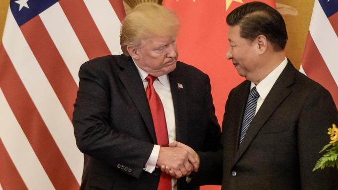 不願G20峰會前激怒中國 美國川普推遲彭斯六四演講(圖片:AFP)