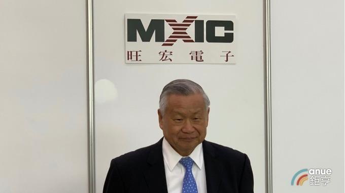 旺宏今(18)日召開股東會,圖為董事長吳敏求。(鉅亨網記者林薏茹攝)