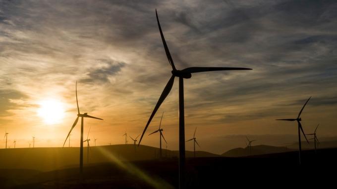 離岸風電產業投資,經濟部預估今年超過80億元。(圖:AFP)