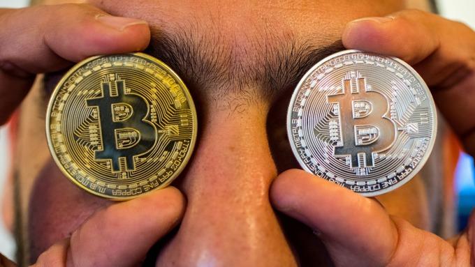 大多頭看好比特幣漲至4萬美元。(圖片:AFP)