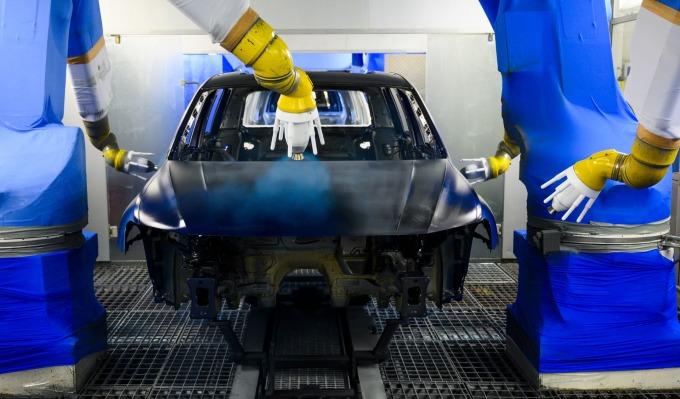 德國汽車產業發達 巴克萊認為可能在中美貿易戰中受惠 (來源: AFP)