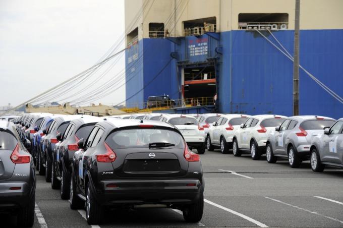 日本對中出口年減 9.7%、與歐盟貿易出現史上最大逆差。(圖片:AFP)