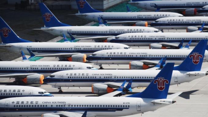 波音傳捷報!獲200架737 MAX訂單。(圖片:AFP)
