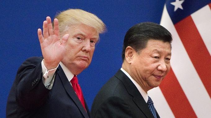 川普日前於推特發文表示,G20「川習會」成局。(圖片:AFP)