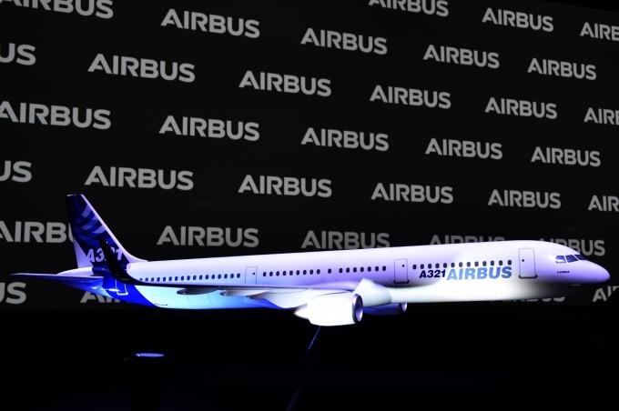空巴 A321 客機 (圖片: AFP)