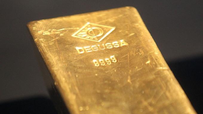 金價衝上逾5年高點(圖片:AFP)
