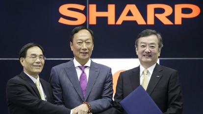 夏普購回全部優先股、經營重建踏入新里程!(圖片:AFP)