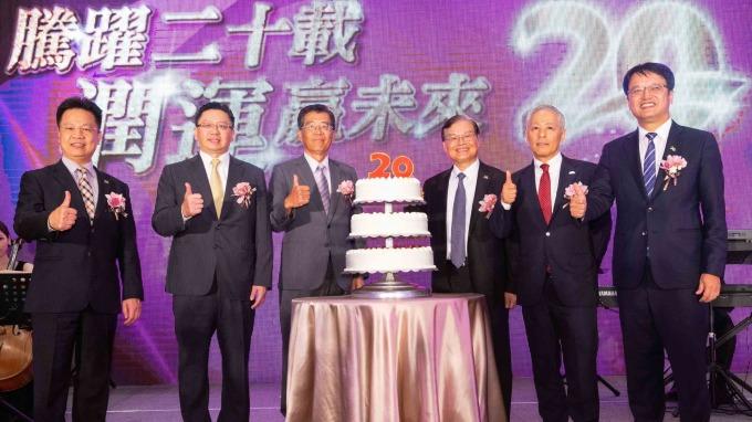 和潤企業和和運租車歡慶20周年。(圖:和泰車提供)