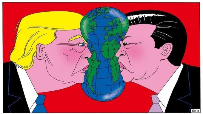 美方:萊特希澤周一已與中國副總理劉鶴通電話 圖片:Bloomberg