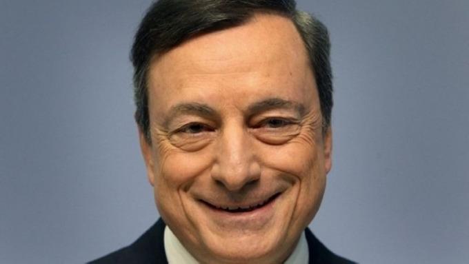 鴿派德拉吉給了新興市場獵取收益的投資者買入歐元資產的理由 圖片:AFP