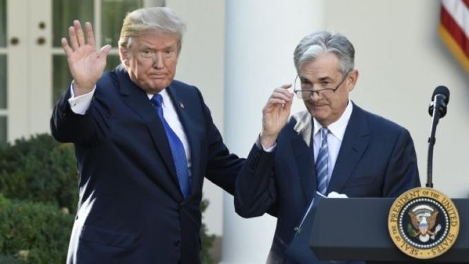 川普再威脅鮑爾:我絕對有權換掉Fed主席 圖片:AFP