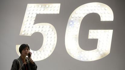 華為常務董事:全球5G商用合約刷新紀錄 部署全球逾半5G商用網路。(圖片:AFP)