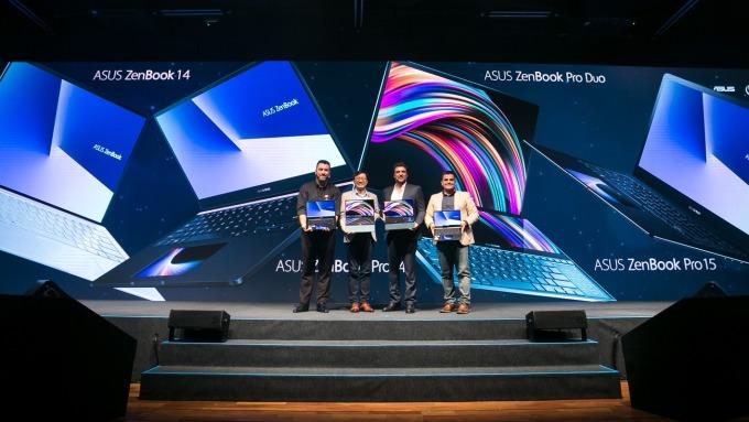 華碩雙螢幕筆電ZenBook Pro Duo 巴西首發