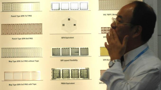 台積電前CFO蔣尚義 傳將執掌武漢弘芯半導體。示意圖。(圖:AFP)