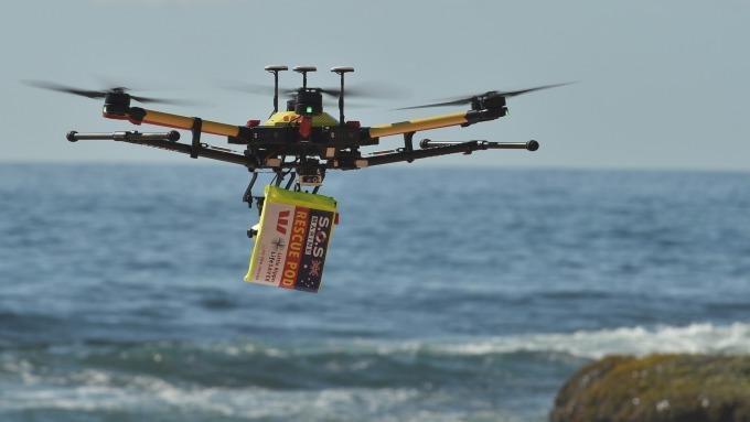 日韓企業攜手、將打造國際性5G無人機操作平台。(圖片:AFP)