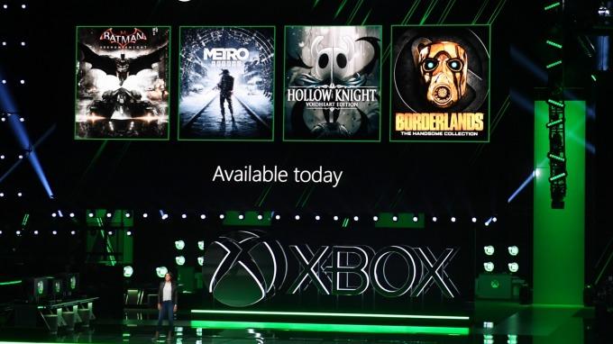 微軟XBox發布會(圖片:AFP)