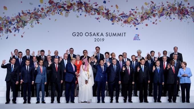 世界目光聚焦G20川習會。(圖片:AFP)