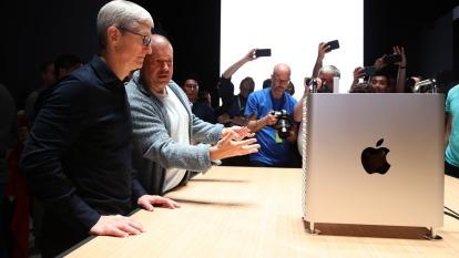 蘋果新 Mac Pro 轉至中國生產,廣達代工製造。 (圖片:AFP)