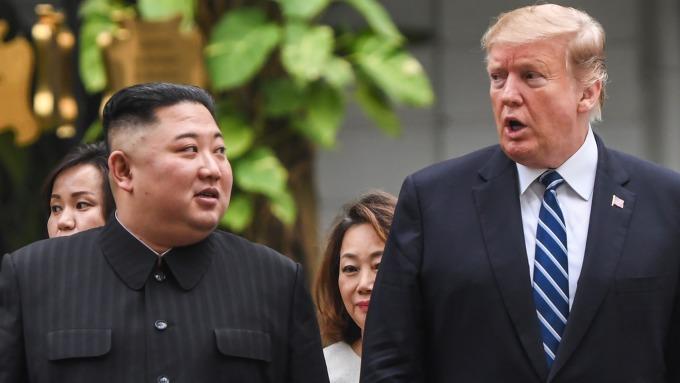 川普向金正恩發出邀請,相約南北韓非軍事區 (DMZ)。(圖片:AFP)