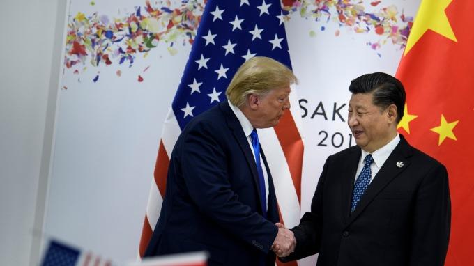 川習會登場!中國採購釋善意 川普:尋求平等貿易關係 (圖片:AFP)