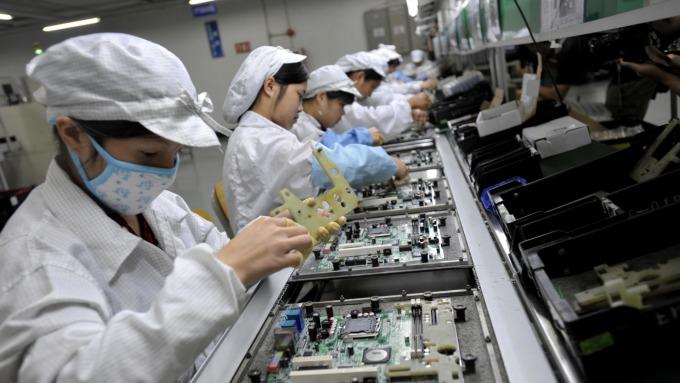 中國再啟自主開發之路,紫光宣布進軍DRAM產業。(圖:AFP)