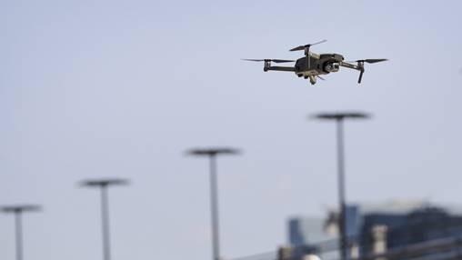 (圖二:無人駕駛的飛機,AFP)