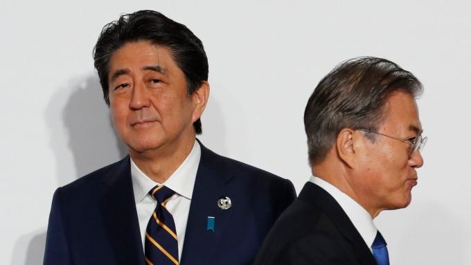 〈分析〉日本為何能掌握韓國半導體命脈。(圖片:AFP)