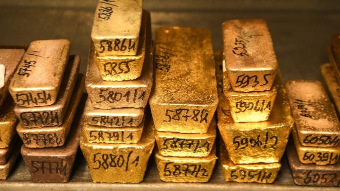 競逐最有價值貴金屬寶座 目前鈀金領先黃金(圖:AFP)