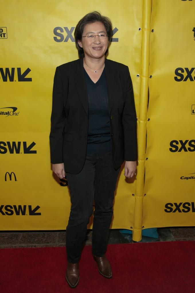 AMD 首席執行長 Lisa Su(圖片: AFP)