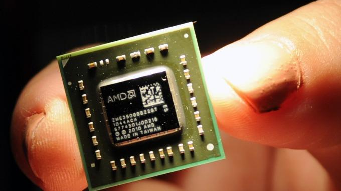 AMD超微半導體轉虧為盈 過去四年股價漲約1840%(圖片:AFP)