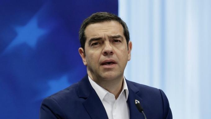 希臘總理齊普拉斯(圖片:AFP)