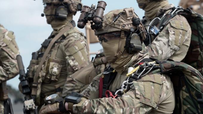 特種部隊可望在未來使用新技術來辨識遠程目標(圖片:AFP)