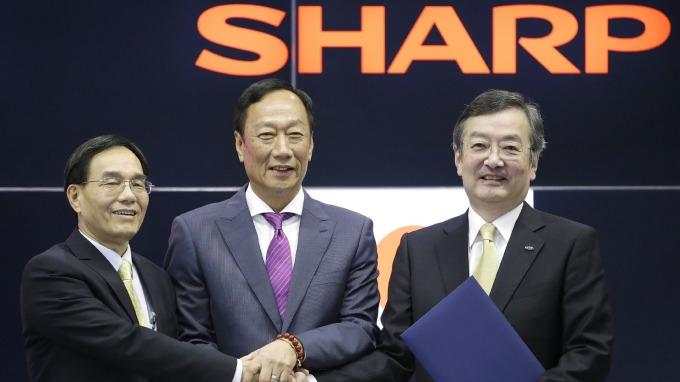 夏普實施整併將關閉2據點、股價上漲3.8%!(圖片:AFP)