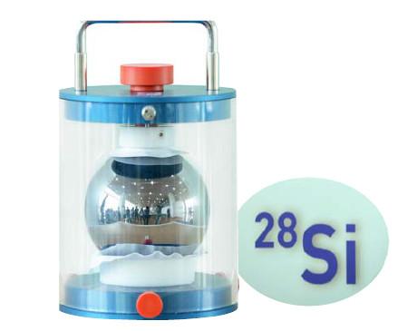 工研院成為世界首批具有資格取得「高純度矽晶球」購置權的國家單位,透過計算矽原子數量的方式計算普朗克常數,以新定義計量公斤。
