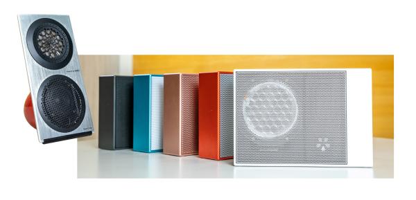 華一聲學的薄膜耳機、喇叭與音箱無需軟體加持,也不用外接擴大器,直接連結音源即可使用;只需中低階的價格,就能讓普羅大眾享受到宛如置身音樂廳的聲音效果。