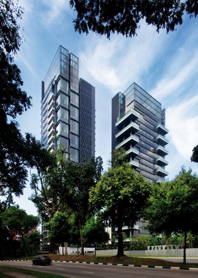 全球最貴的豪宅之一 The Marq,出自 SCDA 設計。(圖 / 國城建設提供)
