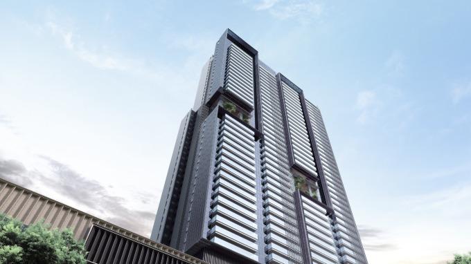 高雄國城定潮,由國際建築團隊規劃,市場關注度高。(圖/國城建設提供)