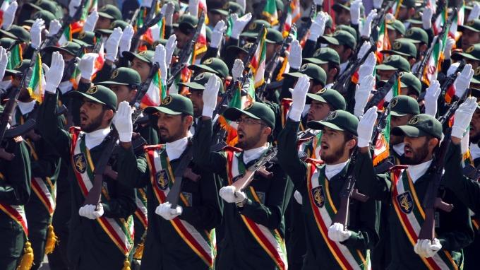 伊朗革命衛隊指揮官放話,要扣押英國油輪。(圖片:AFP)