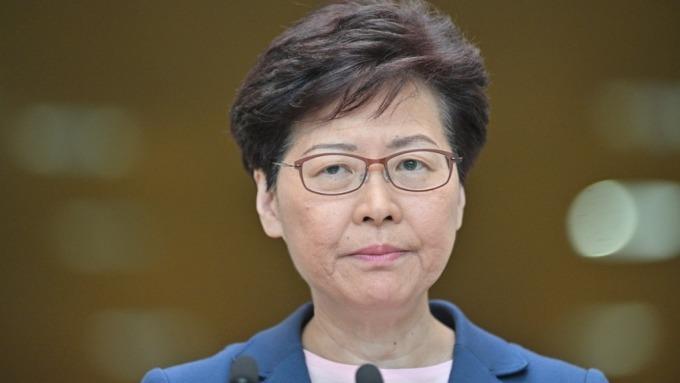 林鄭月娥表示修例工作已「壽終正寢」(圖片:AFP)