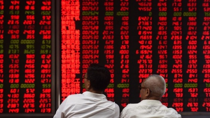 「漲」聲鼓勵,陸券商6月營運佳(圖片:AFP)