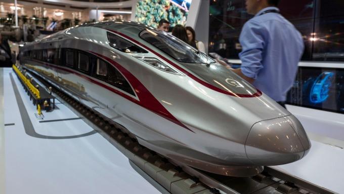 成本優勢,世界銀行:中國高鐵發展稱冠之因(圖片:AFP)