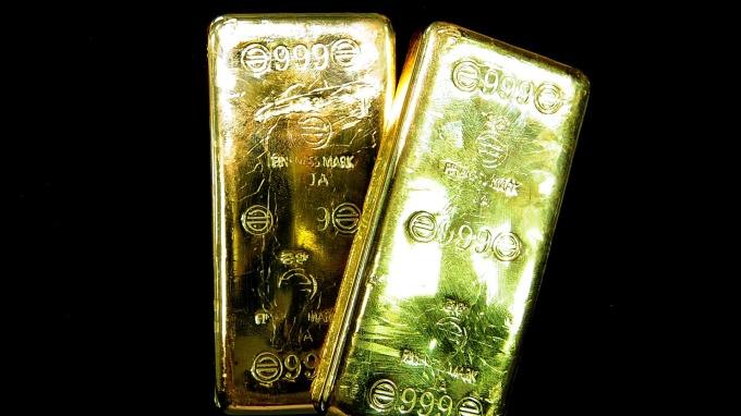 各國央行大買黃金 中國連7月增持(圖片:AFP)