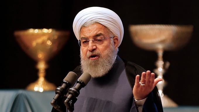 伊朗總統Hassan Rouhani。(圖片:AFP)