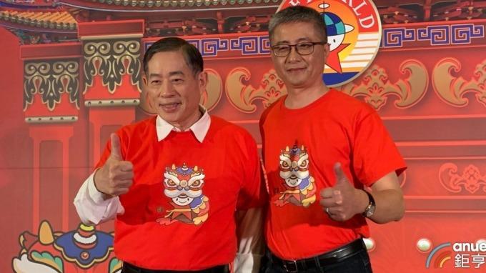 左起為智冠集團董事長王俊博、智冠集團財管中心總經理鍾興博。(鉅亨網資料照)