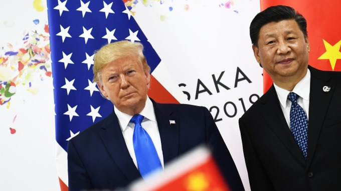 中美兩國重啟貿易磋商。(圖片:AFP)