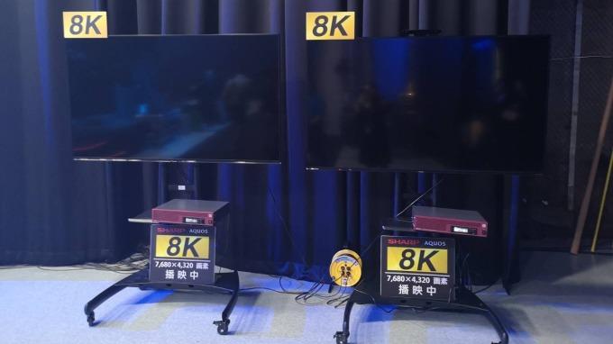 鴻海攜手夏普打造首座8K攝影棚,其中的8K設備也由雙方共同開發。(圖:夏普提供)