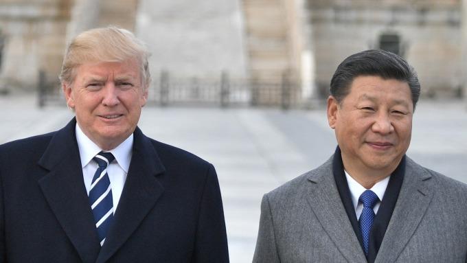川普發抱怨推文:中國沒有買美國農產品 讓我們失望了 (圖片:AFP)