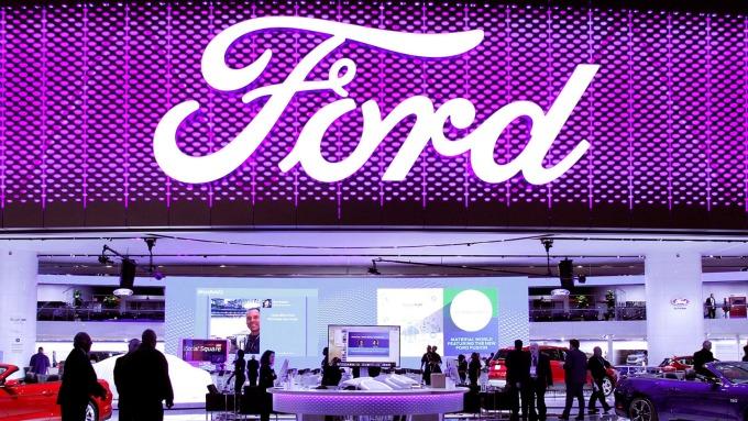 福特將宣布與福斯成立合資企業發展電動自駕車(圖片:AFP)