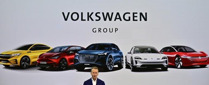 德國福斯汽車集團將與福特聯手打造電東自駕車 (圖片: AFP)